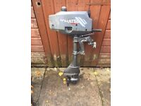 Tohatsu 3.5hp Short Shaft Outboard Boat Engine