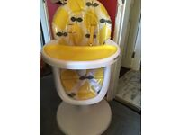 Cosatto 3 sixtii high chair
