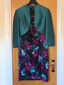 Dress & jacket, Precis Petite, size 14, once worn