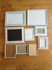 Picture frames (shabby chic)