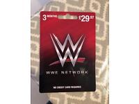 WWE vouvher