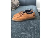 Brand new Fred Perry Plimsoles.