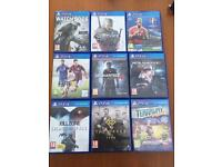 PS4 games - offers or swaps