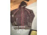 Stone island 11/12 years