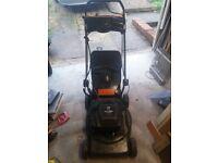 3x Petrol lawn mowers for spares / repairs