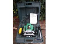 Hitachi M12V Router / compound saw - barely used, in box