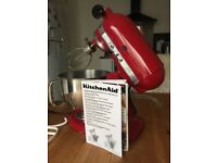 KitchenAid Artisan 4.8L Tilt head stand mixer Model 5KSM150PS. Excellent condition