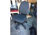 Office desk hydraulic chair