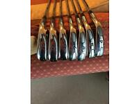 Cobra AMP Forged Irons 4-PW (Steel Stiff Shafts)