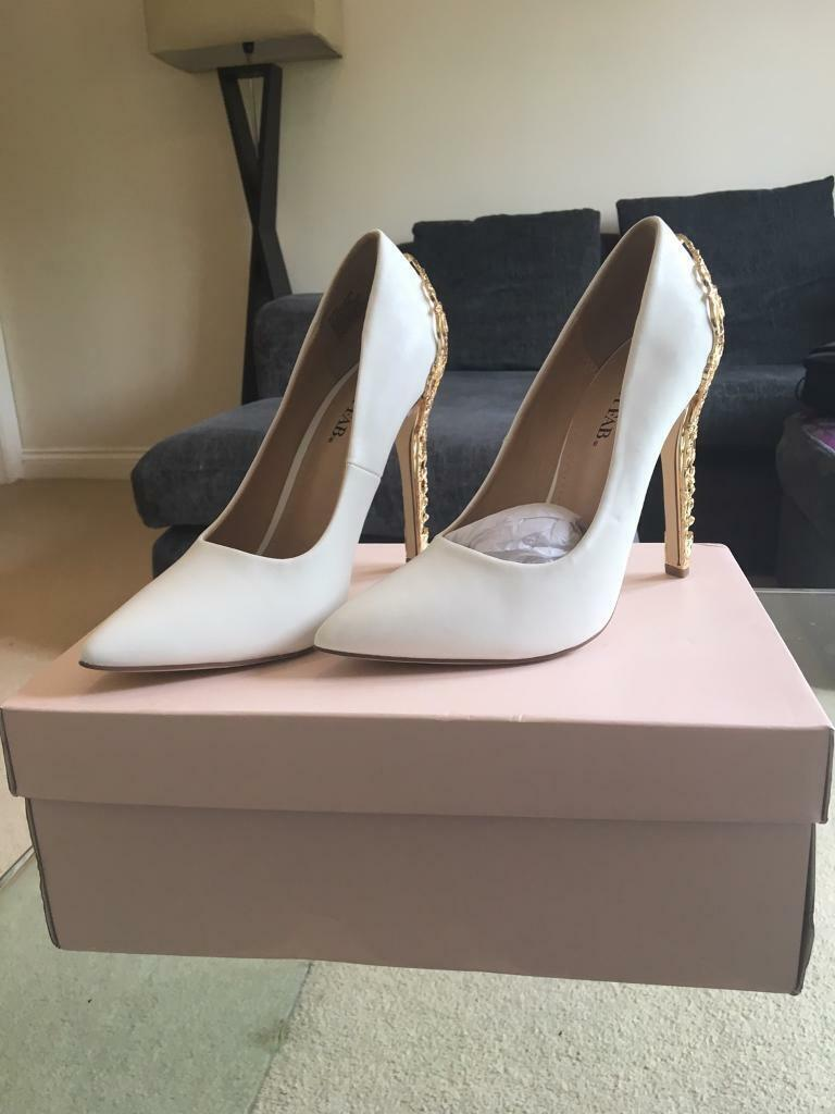 JustFab Sarina Embellished Heel Pump Womens Black Size 7 from JustFab | ShapeShop