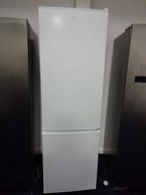 White LOGIC tall fridge freezer
