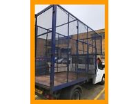 LARGE CAGED TIPPER FOR SELF LOAD - Rubbish, Junk, House, Garage & Office Clearances. Skip, Removal