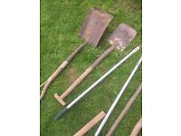 Garden tools large selection