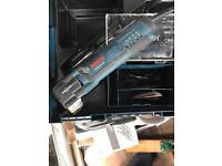 Bosch Multi - Tool used once. L-Boxx and 16 pieces