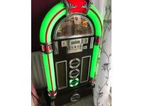 Steepletone rock zero 50 , jukebox and stand