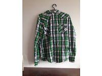 Cedarwood State Shirt With Detachable Hood