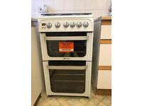 Hotpoint Ultima Hug 52 Gas Cooker - As new Rarely used.