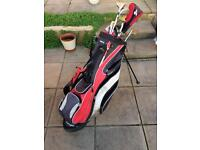 Golf clubs and bag SOLD