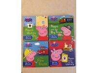 4 x Peppa Pig books