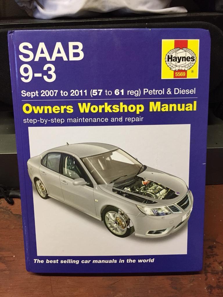 SAAB 9-3 (2007-2011) Haynes Repair Manual