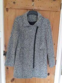 Ladies grey long jacket