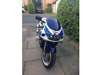 suzuki gsxr 600 srad 16k miles very clean bike