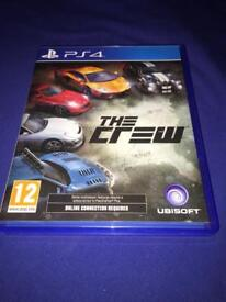 PS4 game - The Crew