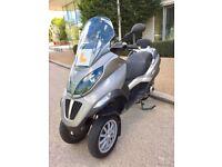 2009 Piaggio Mp3 125cc - £1399