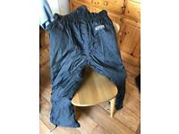 Motor Cycle Waterproof Trousers