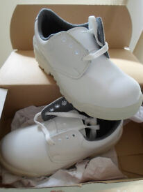 Joblot 60x BEAVER Safety White work boot + steel toe cap Wholesale Clearance Stock