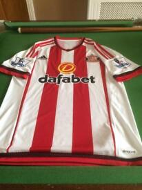Billy Jones signed match worn shirt