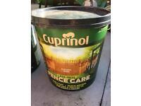 2 pots of Garden fence paint
