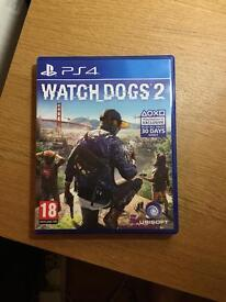 WATCHDOGS_2 PS4 *MINT CONDITION*
