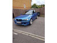 BMW 3 Series 318i 2.0 m sport 4dr *Petrol/LPG* Estoril Blue beautiful car!