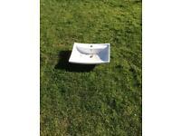 Rectangle Wash basin (Bathstore) - Brandnew