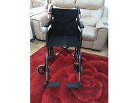 Roma Folding Wheelchair