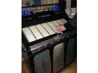 Vintage Rocola Jukebox with 100 vinyls inside needs fixing