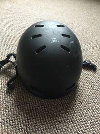 Red ski / cycle helmet small