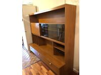 Free Standing Display Wall Unit