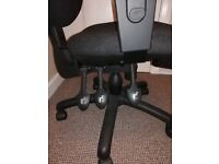 Office chair, black.