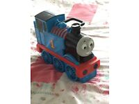 Thomas the Tank engine carry case and many trains