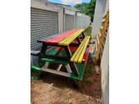 Large 10ft picnic benches