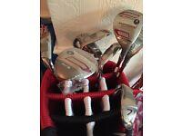 Set of 8 golf clubs - COBRA Baffler - Hybrid Irons - right hand - for men