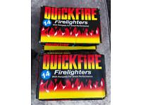 Quick fire lighters bbq camping etc