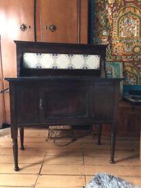 Vintage Victorian Washstand / Dresser with Marble top