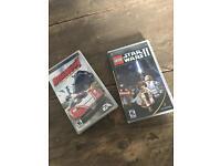 PSP games Star Wars 2 & burnout legends