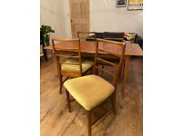 Mid century McIntosh of Kirkcaldy extendable table and chairs