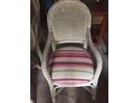 Solid Rattan Garden chairs