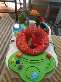 Fisher price play around snack seat