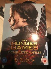Hunger games complete 4 film collection still sealed